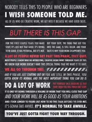 Ira Glass Gap