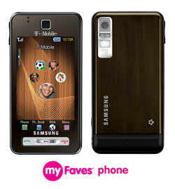 250x270myfaves 1 - Samsung announces the Behold for T-Mobile