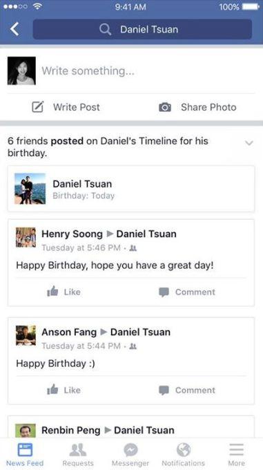 Facebook Birthday Cam Encourages Videos Not Robotic Wall Posts Techcrunch