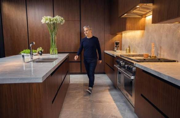 Inside the kitchen of interior designer Diego Burdi   The Globe and Mail Diego Burdi is photographed in the kitchen of his Toronto home on June 12   2017