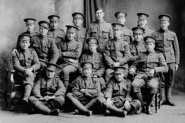 On July 1, 1916 soldiers of the Newfoundland Regiment were ordered to attack the German lines at the village of Beaumont-Hamel near the Somme River. Of the regiment's 798 soldiers, 310 were killed and 374 wounded.
