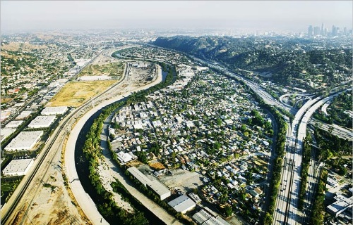 los angeles river by lane barden