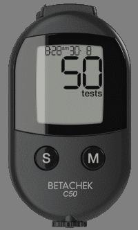 BETACHEK C50 Blutzuckermessgerät