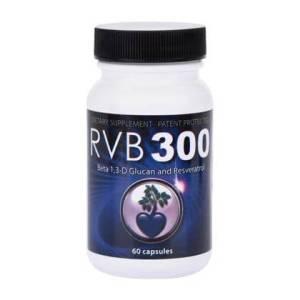betaexpress beta glucan rvb300 - RVB300 (Beta 1,3-D Glucan, Resveratrol and Vitamin C mix) *Patent Protected 60 capsules