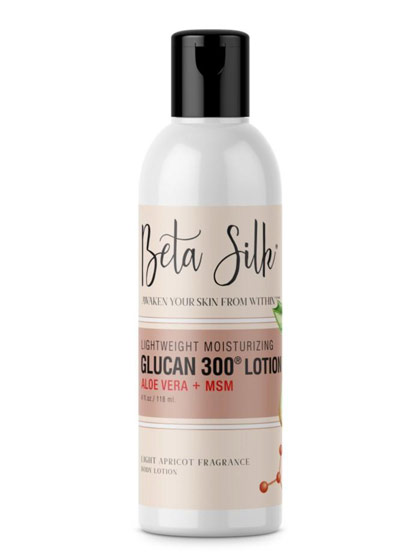 betasilk lotion front - BetaSilk - 4oz. Our LOTION is BACK!