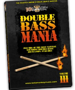 Metal drum loops - Double Bass Mania III