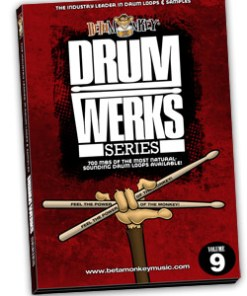 Drum Loops for Hard Rock, Rock - Drum Werks IX