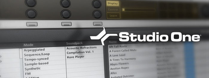 presonus studio one drum loops