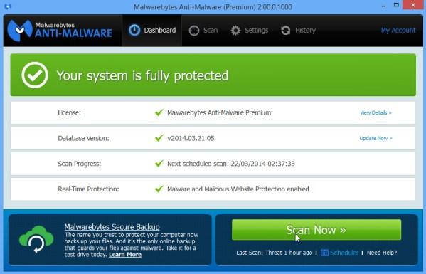 Image result for Malwarebytes Anti-Malware Pro