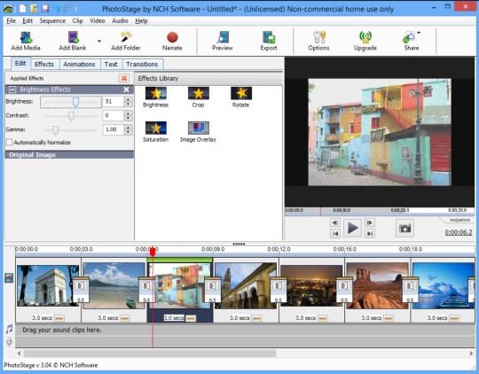 NCH PhotoStage Slideshow Producer Professional 4.17 Beta