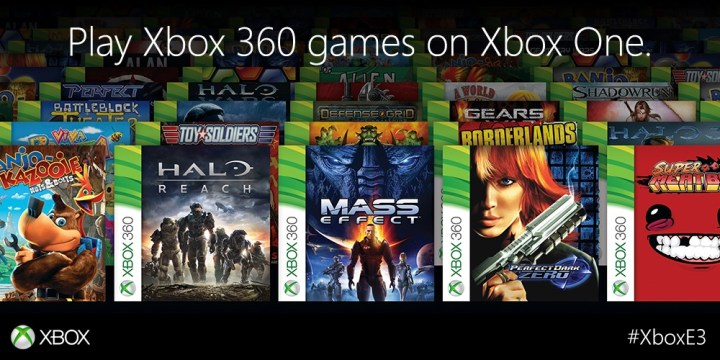 Xbox One gets backwards compatibility  will play over 100 Xbox 360 games
