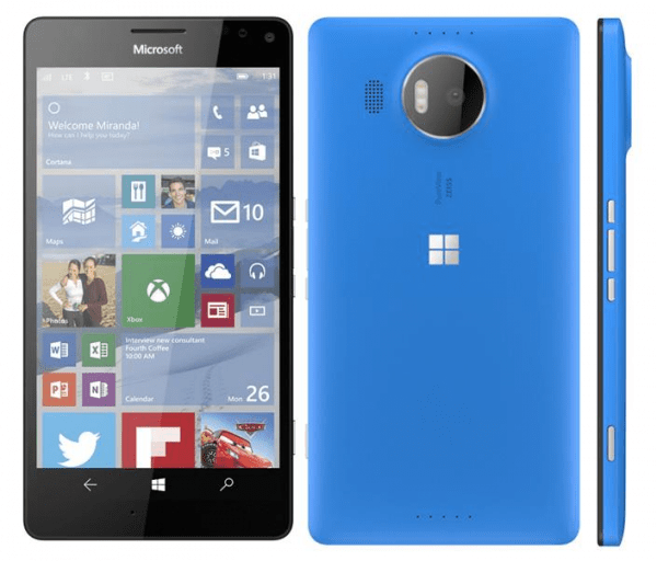 Microsoft Cityman Windows 10 Mobile flagship