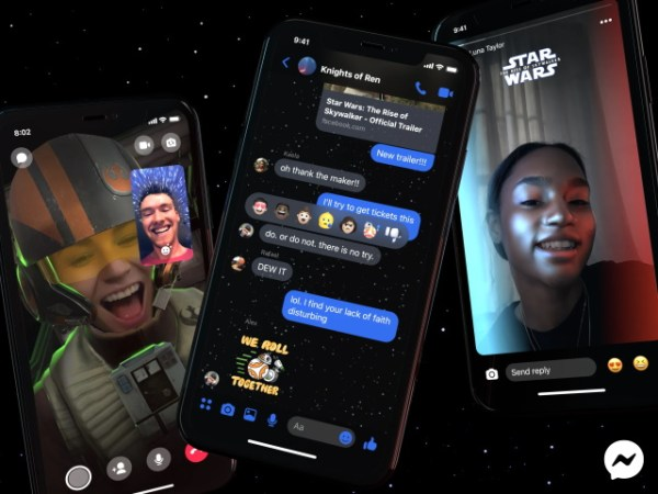 Star Wars: The Rise of Skywalker lands in Facebook Messenger