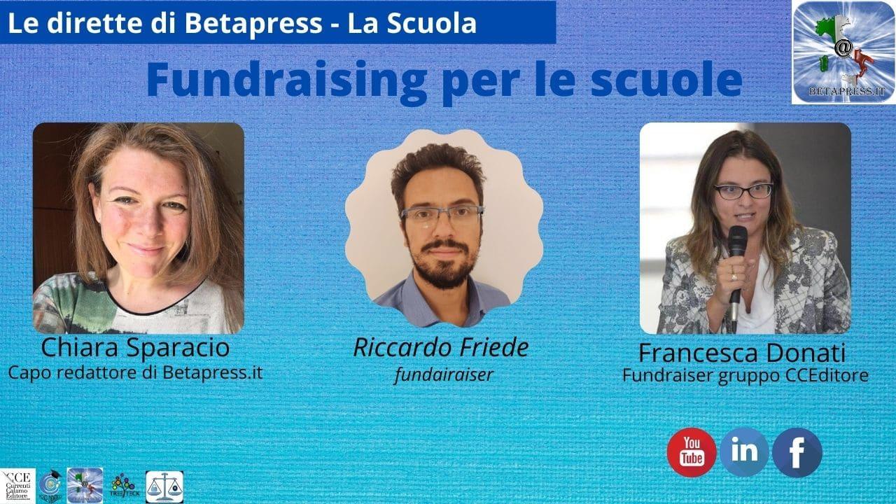 Riccardo Friede parla del fundraising