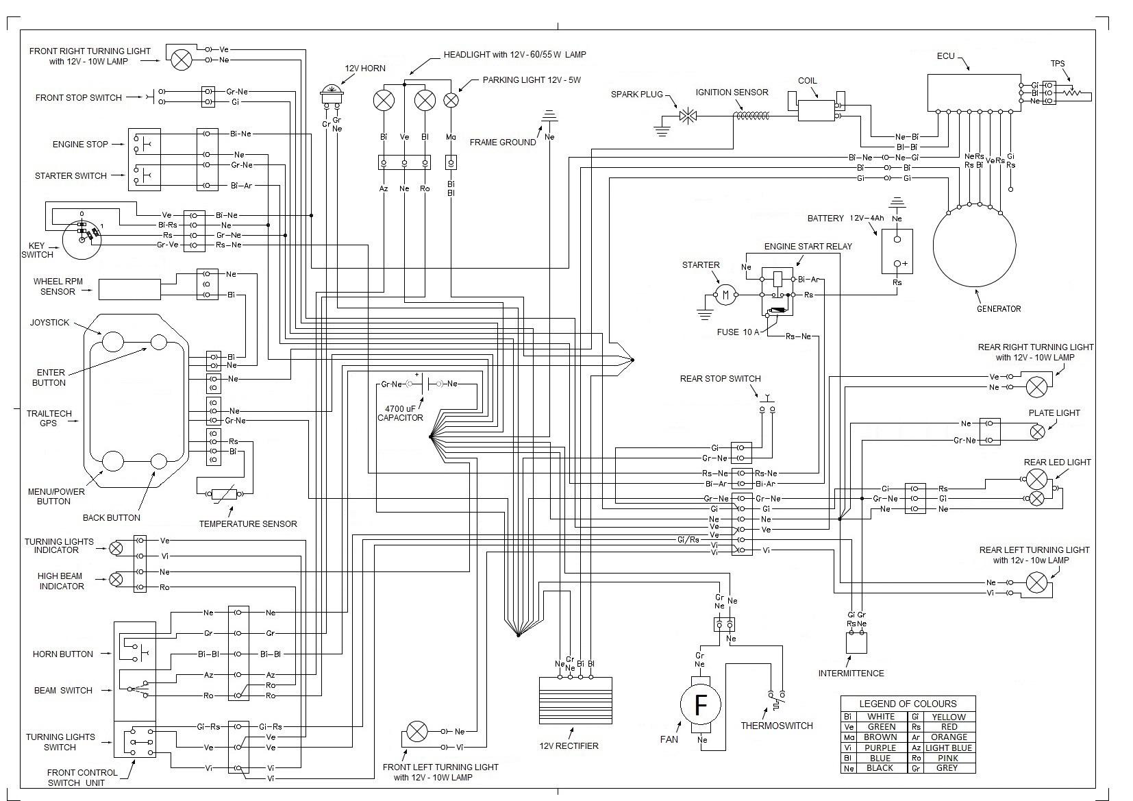 Yamaha Neo 50 Wiring Diagram