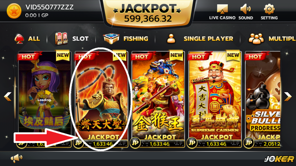 Agen Deposit Game Slot Joker123 Termurah di Indonesia
