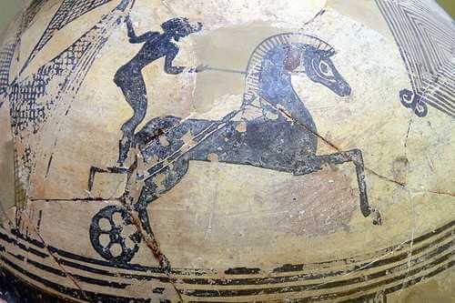 αθλητές των Αρχαίων Ολυμπιακών Αγώνων