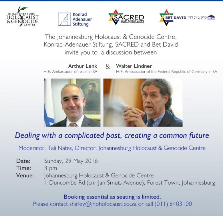 Invitation 29 May