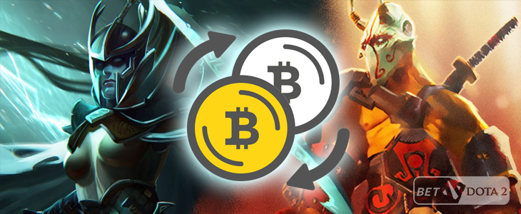 BetDotA2.eu - Bitcoin betting exchaange