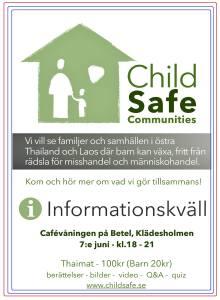 Informationskväll om ChildSafe