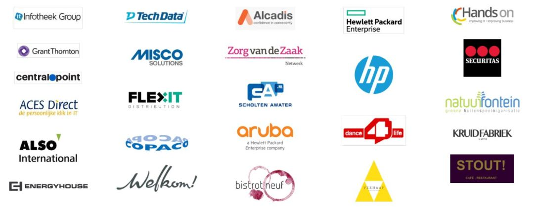 logo's klanten