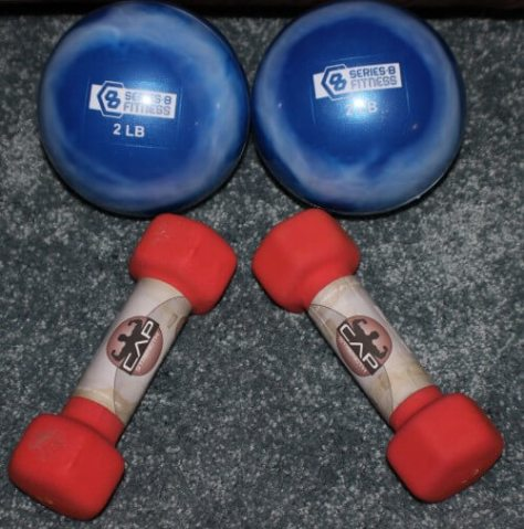Two Pound Workout Weights
