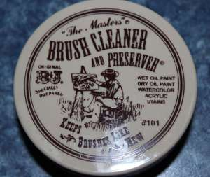 The Masters Brush Cleaner and Preserver 2.5 oz.