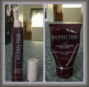 Michael Todd Eye Cream & Jojoba Charcoal Facial Scrub