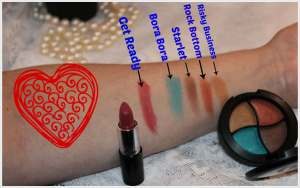 Ipsy March 2014 Glam Bag Swatches