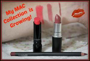 MAC Faux, Full Speed and Half Red Swatches