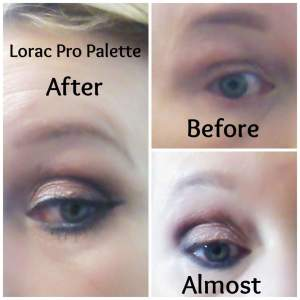 Lorac Pro Champagne Eye Tutorial Collage