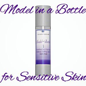 Model in a Bottle Makeup Setting Spray the Sensitive Skin Formula