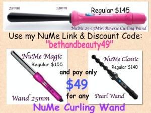 NuMe Discount Code bethandbeauty49