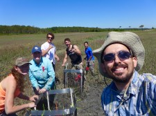 The whole caging team! Couldn't have done this without all their help. Cape Charles, VA