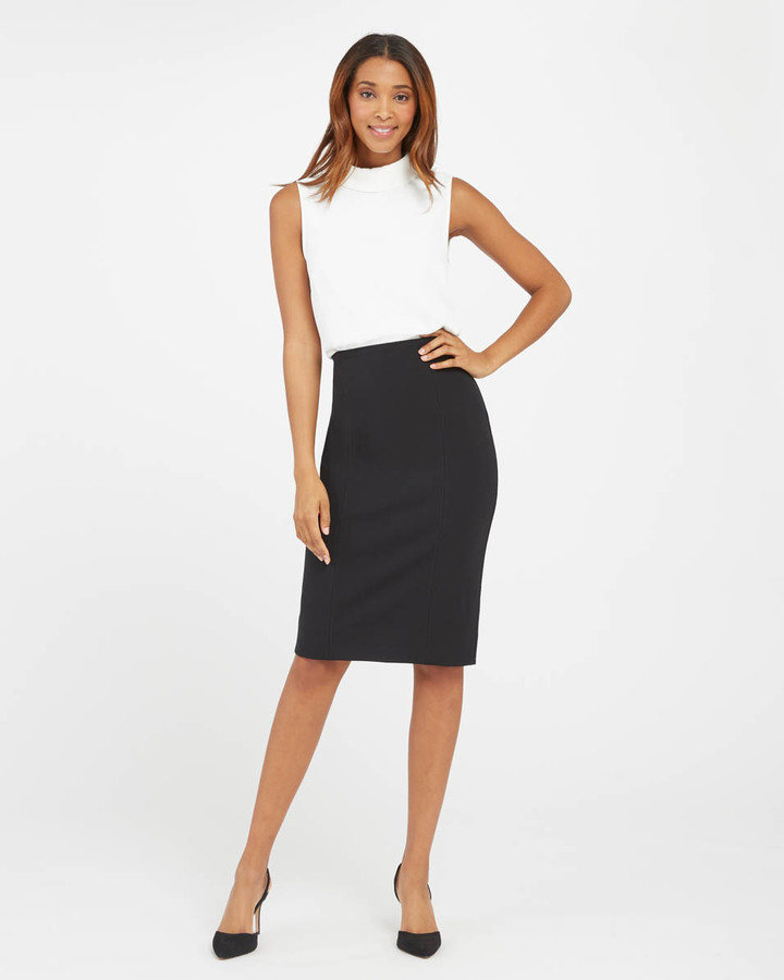 Spanx black pencil skirt - Your Best Holiday Style
