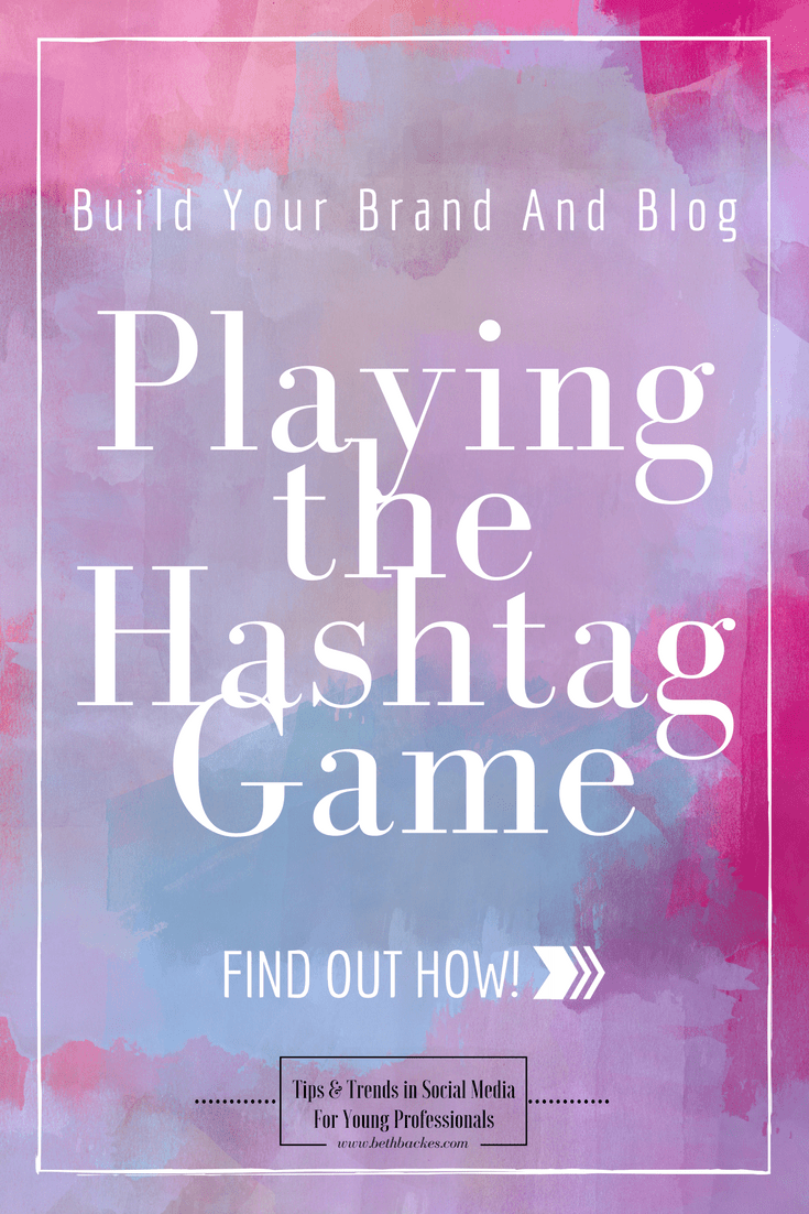 Here are my top 5 tips for learning to play the hashtag game. Use and share these insights with your brand and you'll be on your way to making a bigger impact in the social media world, and getting your posts noticed.