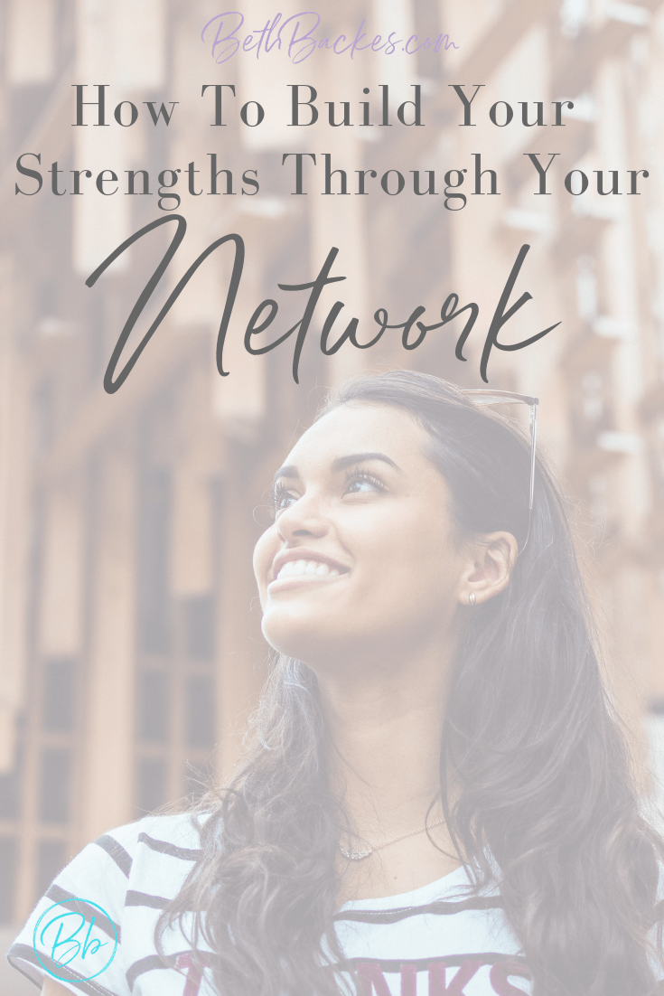 Use social media and your online presence to help you identify your strengths. Learn how your network should be working for you, not the other way around. #branding #networking #girlboss