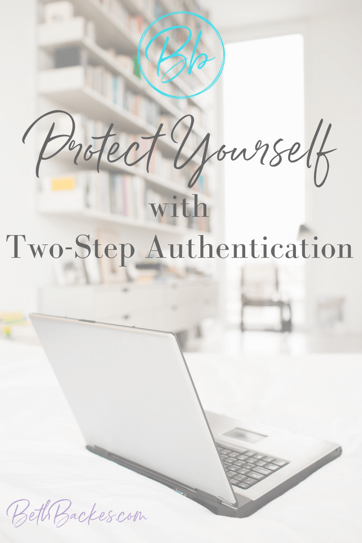 Pro Tip: Protect yourself with two-step authentication. You can never be too cautious with your private information online. Never take this for granted.#techtips #blogger #socialmedia #girlboss #mompreneur