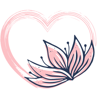 Healthy Heart Vibes Logo | bethbackes.com