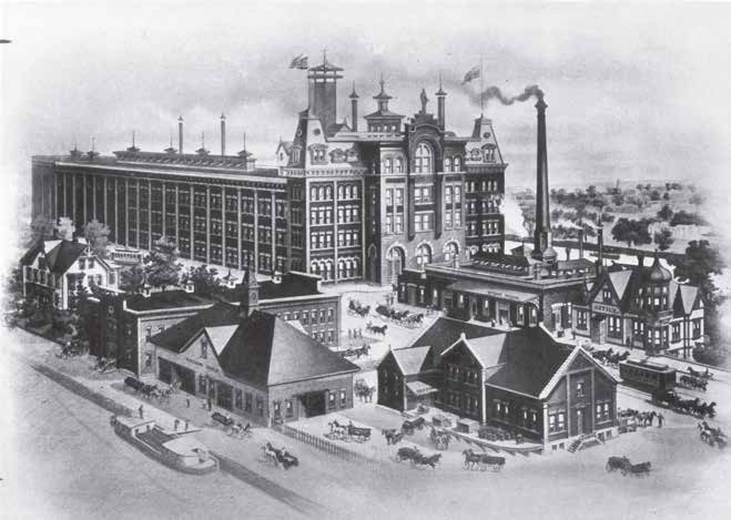 Centlivre Brewery in the 1880s