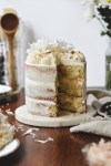 triple coconut rum cake - bethcakes.com
