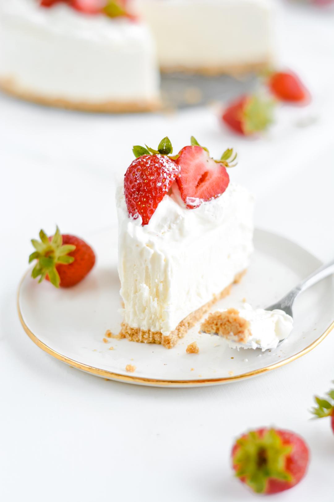 Classic No-Bake Cheesecake