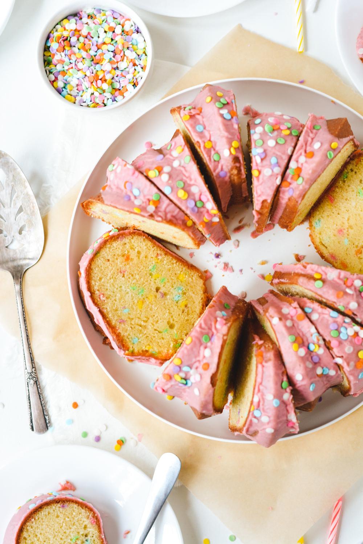 Birthday Bundt Cake - bethcakes.com