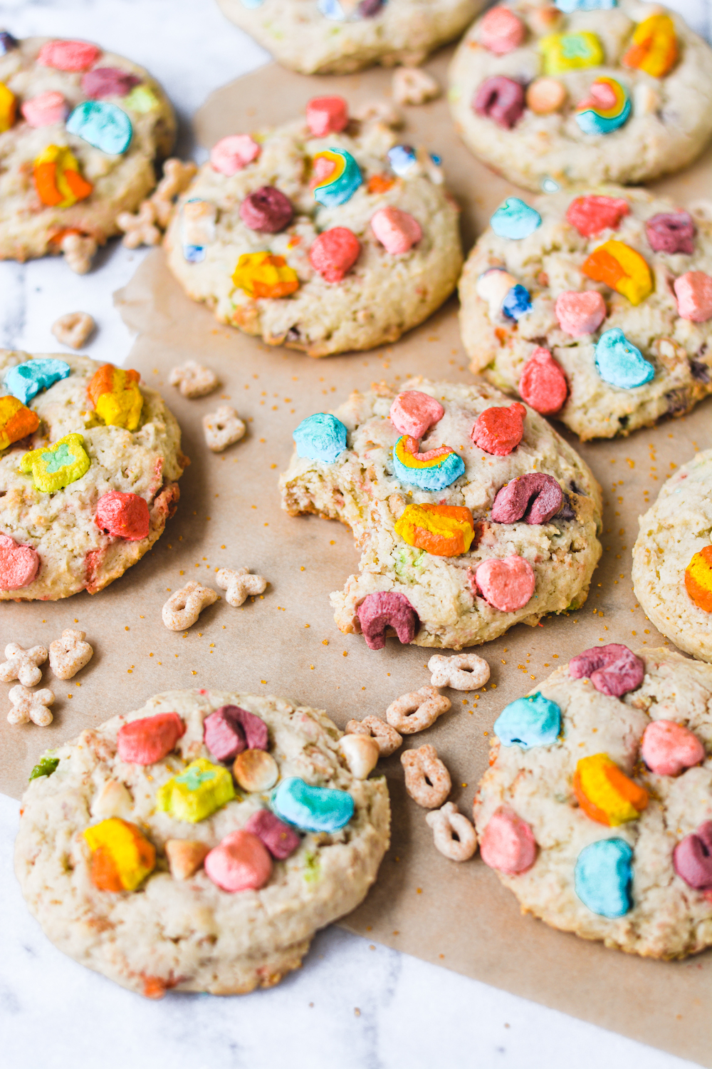 lucky charms cookies - bethcakes.com