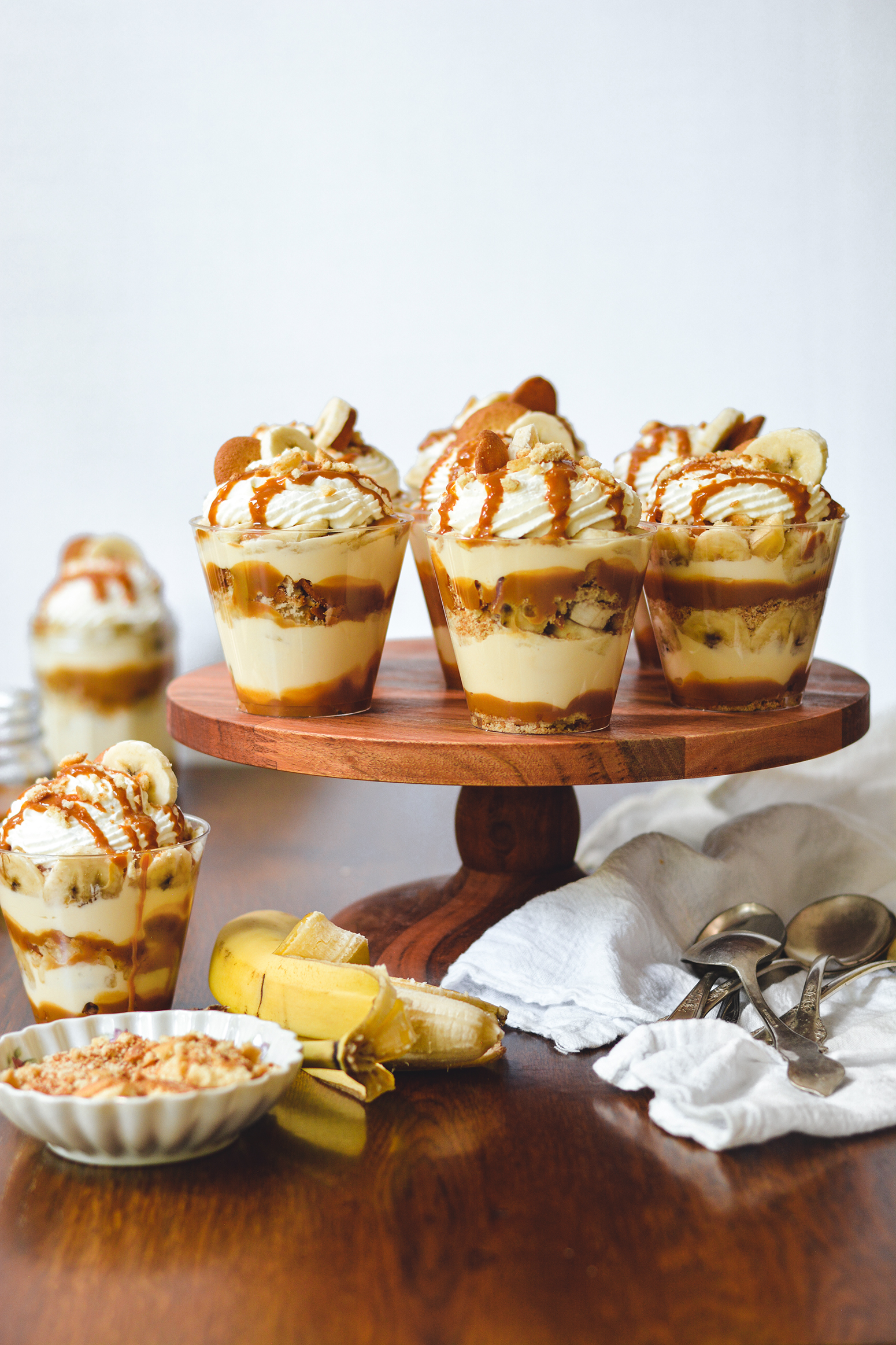 dulce de leche banana pudding - bethcakes.com