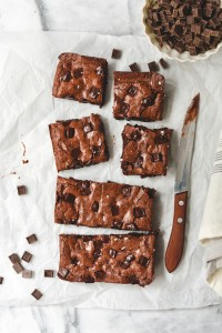 small batch brownies - bethcakes.com