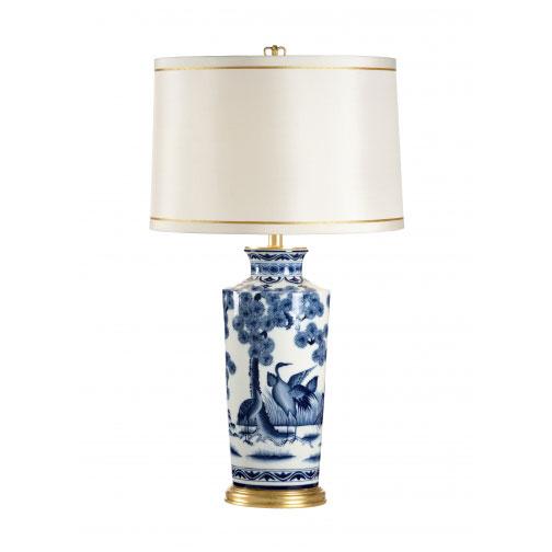 Crane Urn Lamp