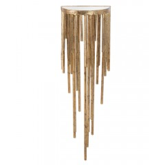 Staggered Gold Wall Sconce