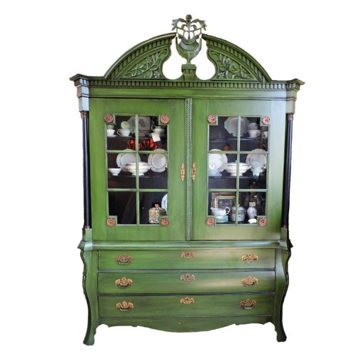 Dutch Painted Armoire