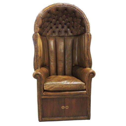 Louis XV French Regency Porter Chair